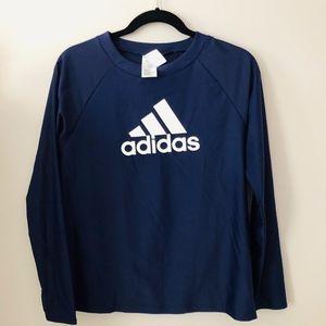 Adidas Deep Purple Swim Shirt Size L - NWT